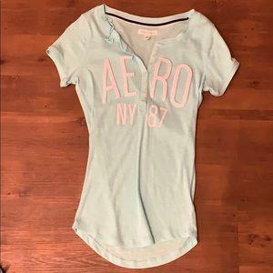 Light Blue Aero NY 87 shirt